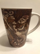 2006 35th Anniversary Starbucks Mermaid Mug Brown & Copper Color - $15.20