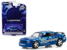 "2008 Dodge Charger SRT8 MOPAR Edition Dark Blue ""Hobby Exclusive\"" 1/64... - $13.18"
