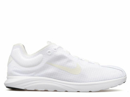 NIKE Women's Mayfly Lite Athletic Fashion Design Sneakers White/White 10US - $30.00
