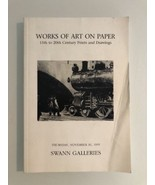 Works Of Art On Paper 15th To 20th Century Prints And Drawings / 1995 - $9.60