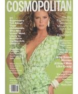 1988 Cosmopolitan Vintage Fashion Magazine Rachel Hunter Matthew Broderi... - $39.98
