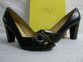 Circa Joan & David Size 8 M Found It Black Leather New Womens Shoes SN9204B - $88.11