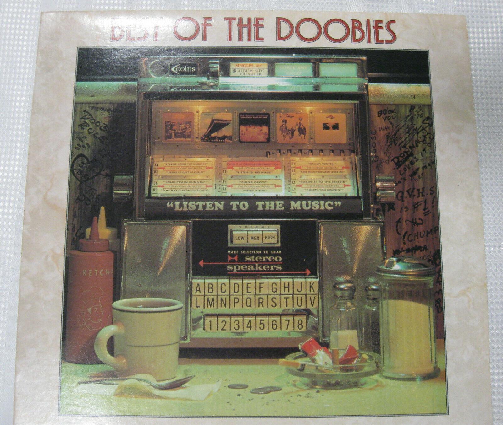 The Doobie Brothers Best Of Warner Bros BS 2978 Stereo Vinyl LP
