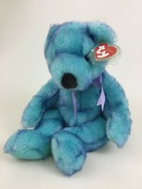 "TY Classic Bluebeary 15"" Plush Stuffed Toy 1999 Teddy Bear Stuffed Anima... - $14.80"