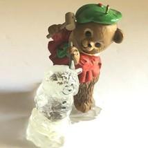 """Hallmark """"The Ice Sculptor"""" Bear Sculpting Bear in Ice Christmas Ornament 1981 - $10.79"""