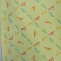 Vintage 80s 90s Jordache Rainbow Horse Head Terry Cloth Fabric 66 x 73 Y... - $59.99