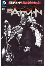 Batman #47 Unbagged Alex Ross Black & White Cover DC Feb 2016 - $24.00