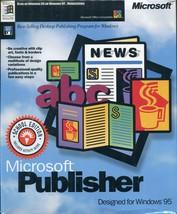 Brand New Sealed Vintage Microsoft Publisher CD ROM For Windows 95 / NT - $18.80