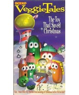 VeggieTales The Toy That Saved Christmas VHS Buzz Saw Louie - $4.90
