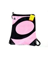 On The Go Sport Pack, Headset Port, Pink & Black Cinch Sack, Sling Bag, ... - $9.75