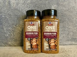 2 McCormick One Sheet Pan Bourbon Pork Natural Seasoning Mix 12.12 Oz Ea - $29.99