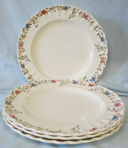 Spode Wicker Dale 4088 Dinner Plate set of 4, USED - $36.42
