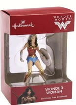 Hallmark 2018 Wonder Woman Sword and Shield Christmas Tree Ornament New ... - $12.59