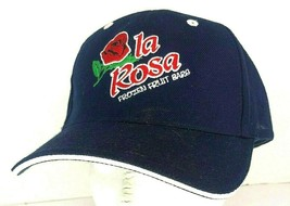 la Rosa Frozen Fruit Bar Navy Blue Baseball Cap Adjustable - £15.39 GBP