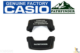 Casio Pathfinder PAG-240 Black Cover End Piece (6&12 Hour) Set PRG-130 P... - $22.89
