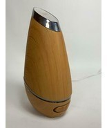 "8.5"" SpaRoom Phoenix Ultrasonic Essential Oil Diffuser Faux Wood S07852 ... - $32.66"