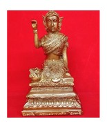 "5"" Statue Thai Nangkwak Lady Pendant for Merchant Business Lucky Rich Tr... - $198.88"