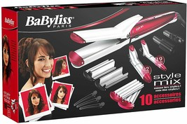 BaByliss Multistyler MS22E Set Shaper Hair 10 IN 1 All Type Hair Style - $207.53