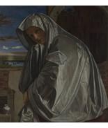 Giovanni Girolamo Savoldo - Mary Magdalene - 40x50 inch Canvas Wall Art ... - $159.00