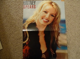 Britney Spears Limp Bizkit teen magazine poster clipping dark lip stick Bop
