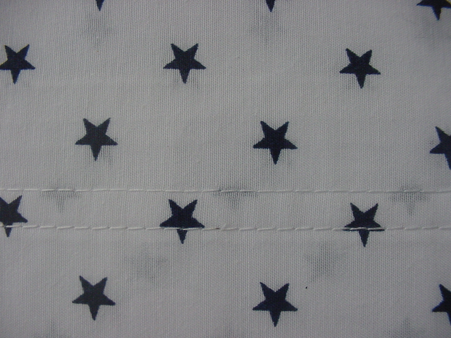 Tommy Hilfiger Navy Stars on White Sheet Set Twin XL