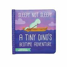 Manhattan Toy Sleepy Not Sleepy - A Tiny Dino's Bedtime Adventure Baby B... - $11.95