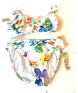 Jams World English Garden Bandeau Bikini Swimsuit Sz S/L Small Top, Larg... - $61.75