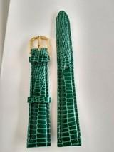 Strap  green color 14mm - $3.96