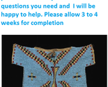 OLD STYLE Native American Handmade Full Beaded Powwow Regalia War Shirt PV197 - $2,566.54 CAD