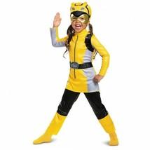 Disguise Power Rangers Giallo Beast Morpher Bambini Costume Halloween 13186 - $26.23