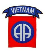 US Army Vietnam 82nd Airborne Patch NEW!!! - $11.87