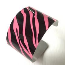 Animal Print/ Pink Zebra Print Cuff Bracelet - $21.00+