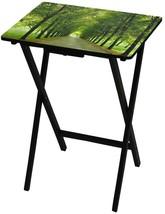 TV Tray Green Oriental Furniture Oriental Furniture Path Life Portable C... - $150.35