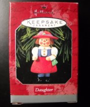 Hallmark Keepsake Christmas Ornament 1998 Daughter Handcrafted Boxed Nin... - $5.99
