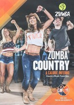 Zumba Country Dance Fitness Music Workout DVD NEW - $9.89