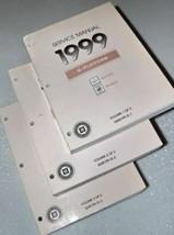 1999 Oldsmobile AURORA Buick RIVIERA Service Shop Repair Manual Set FACT... - $23.71