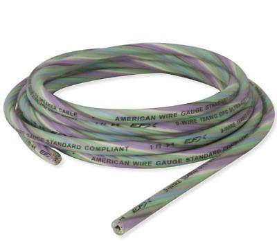 Scosche EFXS9WC18-17 17 ft 18 AWG True Gauge 9 Conductor Copper Speaker wire