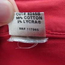 J Brand Jeans Pants Womens 24 Red Skinny Leg C04  image 7