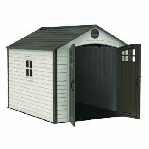 Lifetime 8x10 Storage Shed Kit w/ Corner Trims [60117]