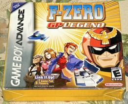 F-Zero Gp Legend Nintendo Game Boy Advance Nuovo in Scatola Sigillata Ga... - $36.94