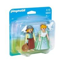 PLAYMOBIL Princess and Handmaid Duo Pack - $12.95