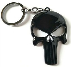 Punisher Skull Keychain - Marvel Accessory For Your Home, Auto, Or Boat... - $23.77