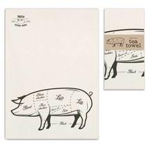 Farm Fresh Pork Cotton Tea Towel Kitchen Towel ... - $7.43