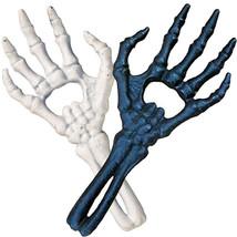 Alchemy Gothic Cast Iron Skeleton Hand Bottle Opener Black or White SB01... - $19.95
