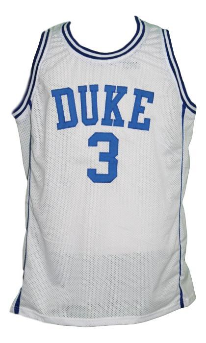 Grayson allen  3 custom college duke basketball jersey white   1