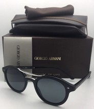 New GIORGIO ARMANI Sunglasses AR 8007 5001/R5 46-21 Matte Black with Gre... - $306.39