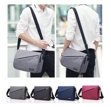 Men Women Fashion Snow Canvas Shoulder Bag Leisure Bag Student Bag - $41.99