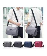 Men Women Fashion Snow Canvas Shoulder Bag Leisure Bag Student Bag - $41.99