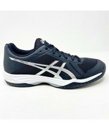 Asics Gel-Tactic Black Silver Womens Size 10 Volleyball Shoes B752N 9093 - $64.95