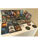 Family DVD Lot of 34 DVDs Teens Kids Pirates of the Caribbean Matrix Ava... - $34.99